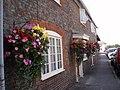 Floral displays in Southwick High Street - geograph.org.uk - 1040017.jpg