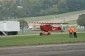 Fokker DVII Ernst Udet Hard Landing 07 Dawn Patrol NMUSAF 26Sept09 (14597948624).jpg