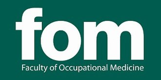 Faculty of Occupational Medicine (United Kingdom) - Image: Fomlogo greenbackground 2015 SMALL