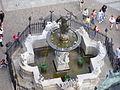 Fontanna neptuna gdansk widok z wiezy ratusza.jpg