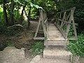 Footbridge in New England Wood - geograph.org.uk - 1367580.jpg