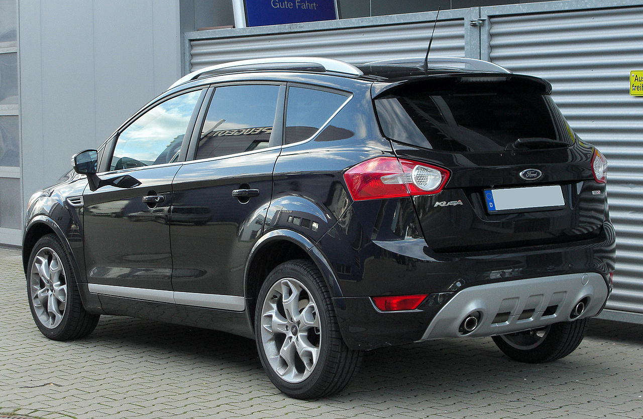 file ford kuga 2 0 tdci individual styling paket rear wikimedia commons. Black Bedroom Furniture Sets. Home Design Ideas
