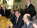 Foreign Minister Ahmet Davutoglu in Western Thrace 5.jpg
