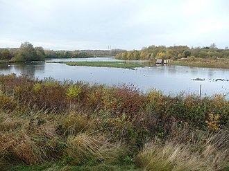 Forge Mill Lake, Sandwell Valley Country Park Forge Mill Lake, Sandwell Valley Country Park - geograph.org.uk - 1579402.jpg