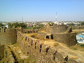 Fort Wall of Gulbarga Fort.jpg
