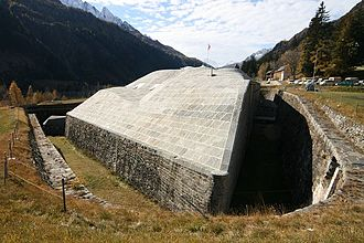 National Redoubt (Switzerland) - Fort Airolo