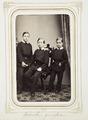 Fotografiporträtt på Gieseckes gossar - Hallwylska museet - 107833.tif