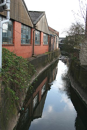 Fowlea Brook - View from Liverpool road