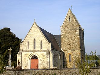 Combray - The church in Combray