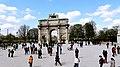 France - Paris, Tuileries Arch - panoramio.jpg