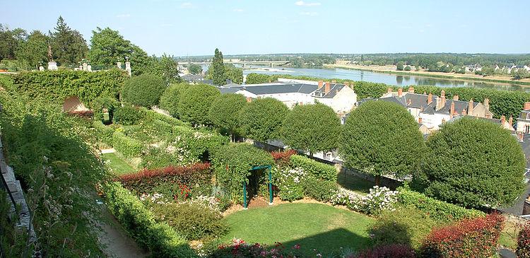 rosaleda de las terrazas del obispado