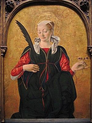 Francesco del Cossa - Saint Lucy