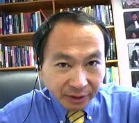 Francis Fukuyama (nar. 1952), americký ekonóm a politológ, zdieľané foto: wikipedia.org