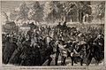Franco-Prussian War; the wounded entering Paris after the Ba Wellcome V0015450.jpg