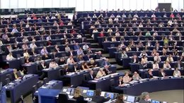 Bestand:Frans Timmermans' inspirational speech to EU Parliament.webm