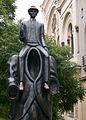 Franz Kafka monument in Prague.jpg