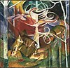 Franz Marc - Deer in the Forest I - Google Art Project.jpg