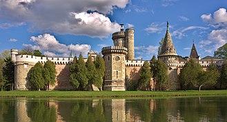 Laxenburg castles - Franzensburg