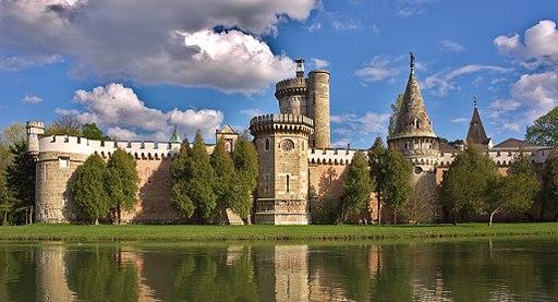 Franzensburg Schlosspark Laxenburg
