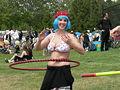 Fremont Solstice Parade 2007 - hula hoops at Gasworks 15-1.jpg