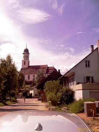 Frick, Aargau - Church in Frick