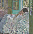 Frieseke, Frederick Carl - Afternoon - Yellow Room - Google Art Project.jpg