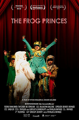 The Frog Princes - Theatrical release poster