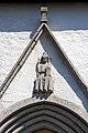 Frontón do portal do coro da igrexa de Garde.jpg