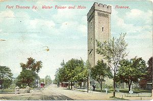 Fort Thomas, Kentucky - Postcard of the Fort in 1909