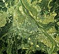 Fukuchiyama city center area Aerial photograph.1975.jpg