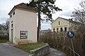 Gänserndorf,Fußweg zum Bahnhof.JPG