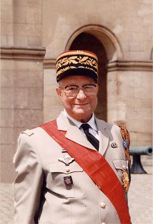 French Foreign Legion Veteran Societies Federation (Légion étrangère) - Image: Général Jean Compagnon (C.R.)
