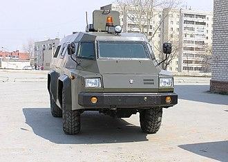 GAZ Vodnik - Image: GAZ Vodnik in 2006
