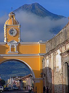 Antigua Guatemala City in Sacatepéquez, Guatemala