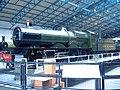 GWR 4000 Class 4003 Lode Star National Railway Museum turntable.jpg