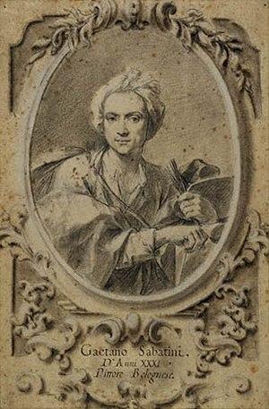 Gaetano Sabatini - Self-portrait, ca. 1734.