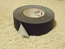 Mute Black Gaff Tape, Every DJ's Best Friend
