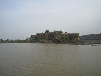 Gagron Fort - View of Gagron fort