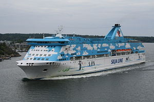 Silja Line - MS Galaxy was transferred from the fleet of Tallink to that of Silja Line in 2008.