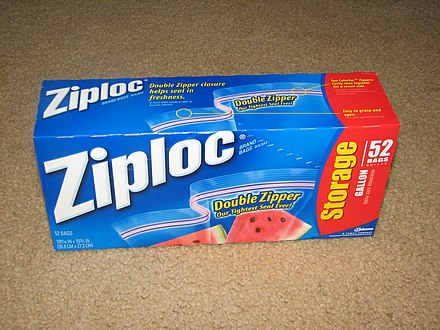 Box Of 1 Us Gallon 3 7 L Ziploc Bags