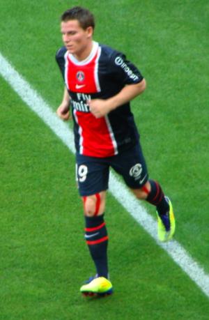 Kevin Gameiro - Gameiro playing for Paris Saint-Germain in 2011