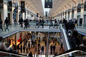 Gare Saint-Lazare - Renovated passenger hall