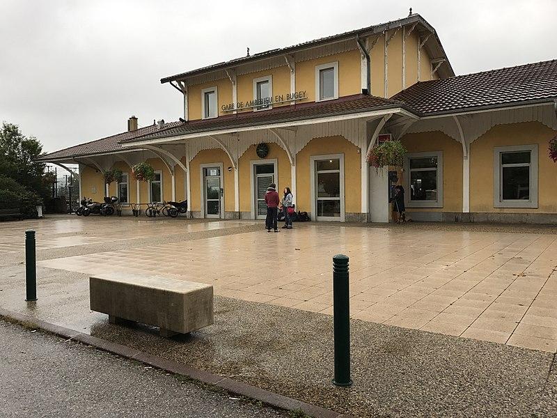 Gare d'Ambérieu-en-Bugey.