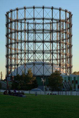 Schöneberg - Gasometer, a landmark of Rote Insel