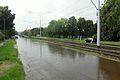 Gdańsk Oliwa Ulica Wita Stwosza (po deszczu).JPG
