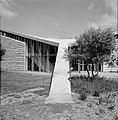 Gebouw van de agrarische faculteit van het Weizmann-Instituut te Rehovot, Bestanddeelnr 255-3946.jpg