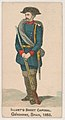 Gendarme, Spain, 1853, from the Military Series (N224) issued by Kinney Tobacco Company to promote Sweet Caporal Cigarettes MET DPB874331.jpg