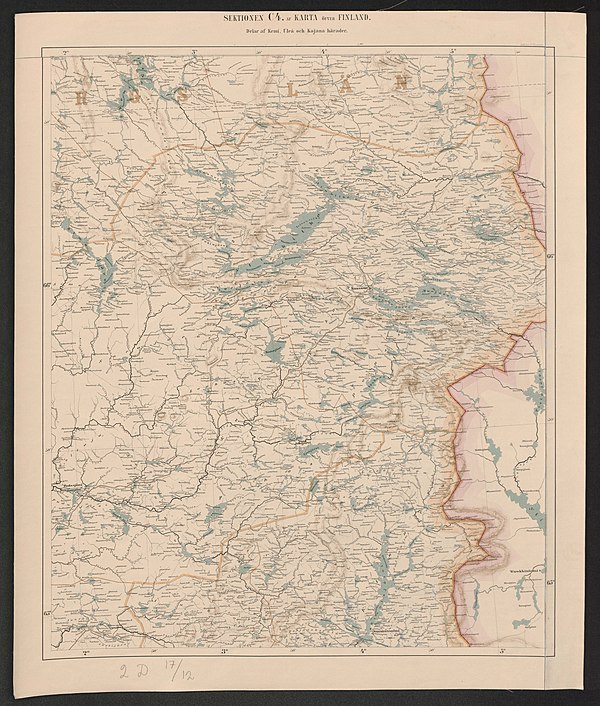 600px general map of the grand duchy of finland 1863 sheet c4