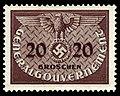 Generalgouvernement 1940 D5 Dienstmarke.jpg