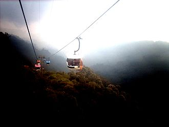 Gondola lift - Genting Skyway in Genting Highlands, Malaysia